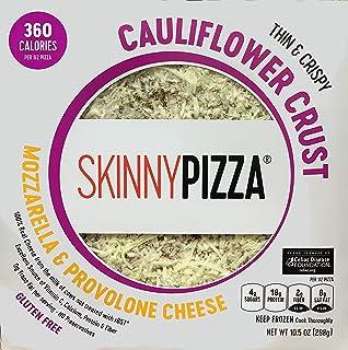 SKINNYPIZZA Cauliflower Crust Cheese Pizza Frozen (4 Pack)