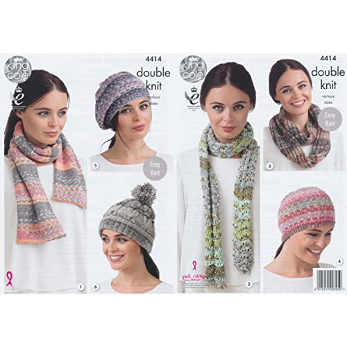Hat and Scarf Knitting Patterns: Amazon co uk