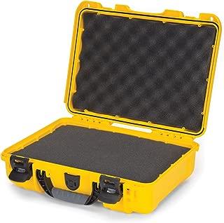 Nanuk 910 Waterproof Hard Case with Foam Insert - Yellow
