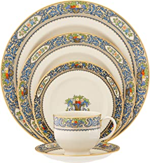 Lenox Autumn Gold-Banded Fine China 5-Piece Place Setting, Service for 1-116890610