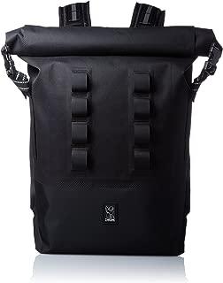 Chrome Urban Ex Rolltop Backpack MOLLE Messenger Bag 28 Liter Black