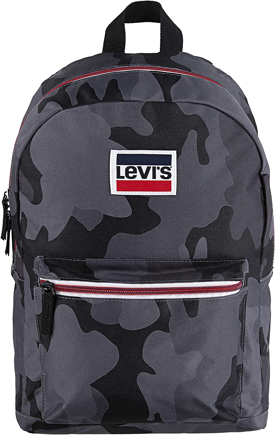Levi's Kids' Classic Logo Super popular specialty store Backpack One Camo Grey Ranking TOP2 Size