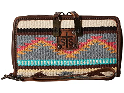 STS Ranchwear The Kacy Organizer (Tornado Brown/Sedona Serape) Handbags