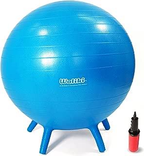 WALIKI Chair Ball with Feet for Kids | Alternative Classroom Seating | Balance Ball | 20