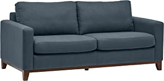 Rivet North End Modern Wood Accent Sectional Sofa Couch, 78.3