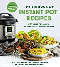 The Big Book of Instant Pot Recipes: 240 Must-Try Dishes for Your Multi-Function Cooker (English Edition)