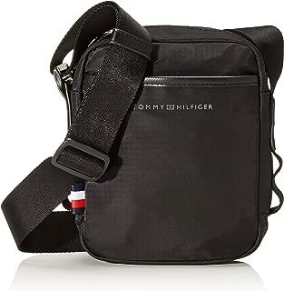 Tommy Hilfiger Men's Small Sport Reporter Bag Small Sport Reporter Bag, Black, One Size