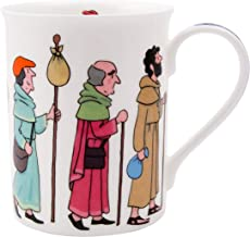 Alison Gardiner Famous Illustrator - Pilgrims Procession Fine Bone China Coffee Cup and Tea Mug - Premium Quality and Detail