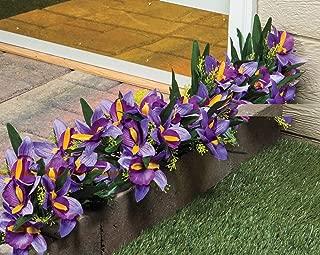 artificial iris flowers