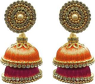 35efaee52 Orange Women's Earrings: Buy Orange Women's Earrings online at best ...