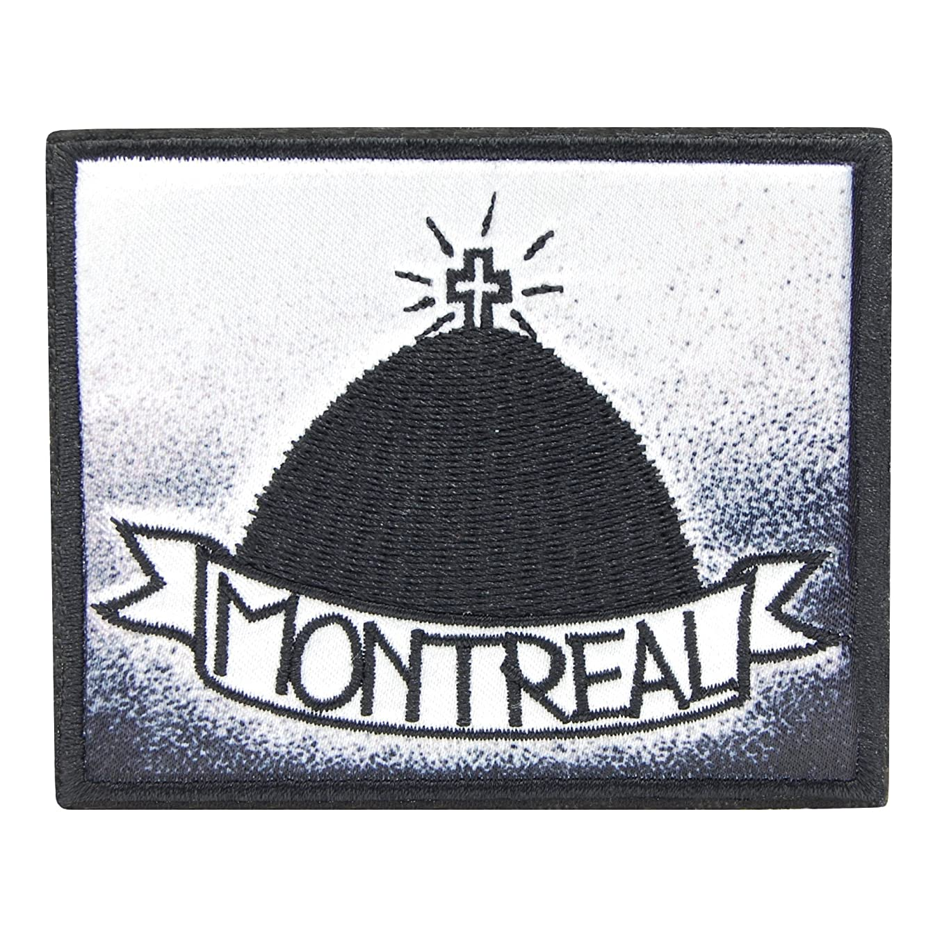 Iron on Embroidered Patch - Montreal