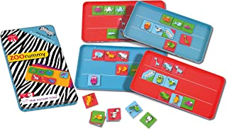The Purple Cow Magnetic To Go Zoo rummy Travel Games- Magnet Board Game Set For Both At Home & In The Car & On The Go - Fo...