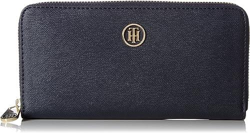 Tommy Hilfiger Womens Honey Large Za Wallet Wallet Black (Black)