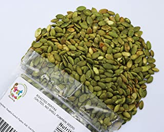 FirstChoiceCandy Pumpkin Seeds Pepitas Roasted/Salted 3 Pound Bulk Bag