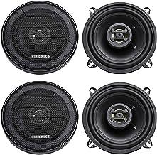 "(4) Hifonics ZS525CX 5.25"" 800 Watt Coaxial Car Speakers photo"