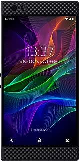 Razer Phone - 1st Generation: 120 Hz Ultra Motion Display - 64GB Memory - 8GB RAM - Dual Camera - Dual Front-Facing Speakers - Gaming Phone - Black