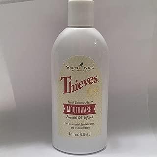Thieves Fresh Essence Plus Mouthwash v.3 8oz. by Young Living Essential Oils