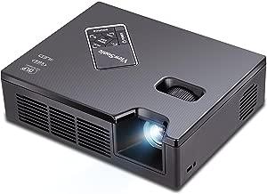 ViewSonic PLED-W800 WXGA HDMI LED Ultra-Portable Mini Projector