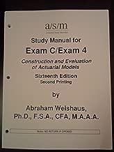 Actex Actuarial Study Manual SOA Exam C / CAS 4 (Volume 1 & 2) 2012 Edition (Actuarial Exams)