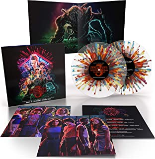 Stranger Things 3 Vinyl (2x LP Fireworks Splatter)