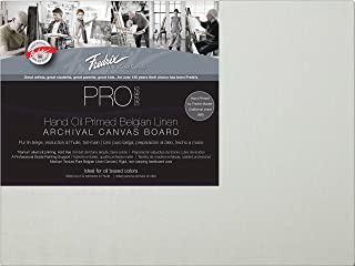 Tara Materials Fredrix 11x14 Linen Archival Canvas Board