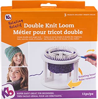 Best authentic knitting board rotating double knit loom Reviews