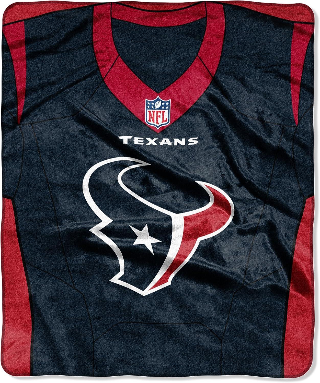 Northwest NFL Houston 40% OFF Cheap Sale Texans Royal Size Raschel Over item handling One Throw Plus