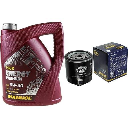 Inspektionspaket Filterset Ölfilter 5 Liter 5w 30 Mannol Motoröl Auto