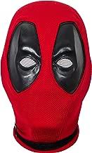 Deadpool Mask,Deadpool Cosplay,DP Mask Helmet,Deadpool Wade Mask Full Head Knitted Mask for Men Red