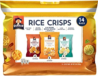 Quaker Rice Crisps Savory Variety Pack, 5 Count
