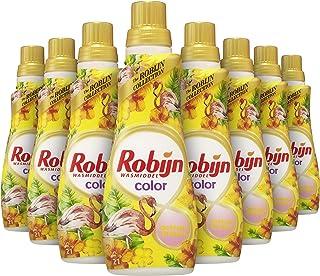 Robijn Klein & Krachtig Caribbean Dream Vloeibaar Wasmiddel 8 x 21 wasbeurten - 8 x 735 ml Voordeelverpakking