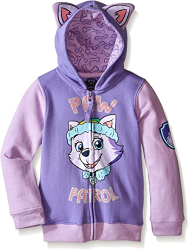 Nickelodeon Paw Patrol Little Girls' Everest Toddler Hoodie product image