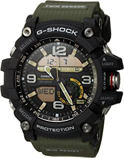 Men's GG-1000-1A3CR Mudmaster G-SHOCK Quartz Casual Watch, Green