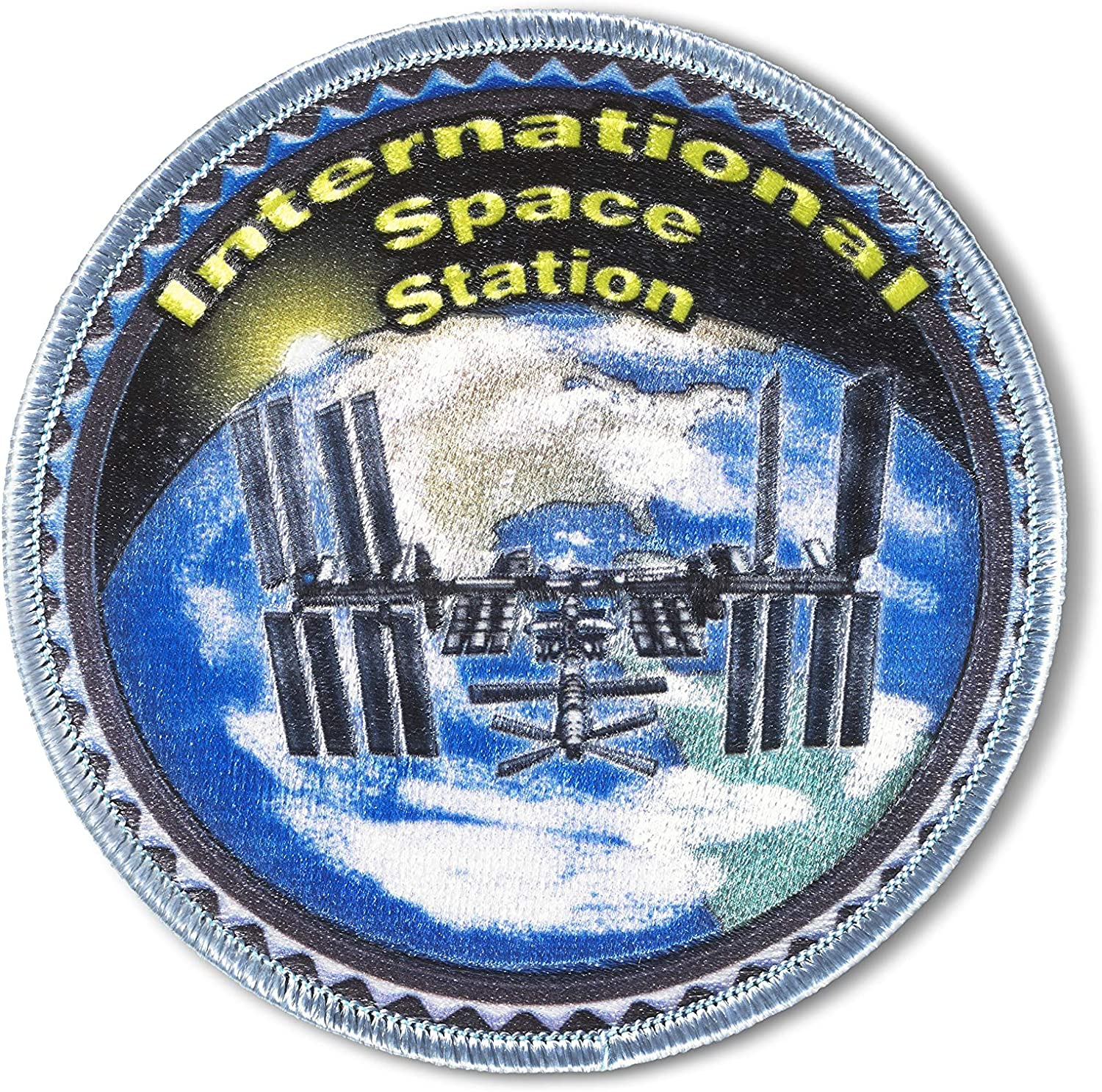 Spartan Bargain sale and The Green Egg Space Explorer Patch Popular brand Embroidered Outer