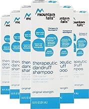 Mountain Falls Therapeutic Dandruff Shampoo 2.5% Coal Tar Topical Solution for Psoriasis, Seborrheic Dermatitis, and Dandruff, Original, 8.5 Fluid Ounce (Pack of 6)