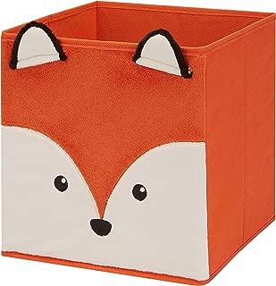 Plush Fox Collapsible Storage Bin 10.5