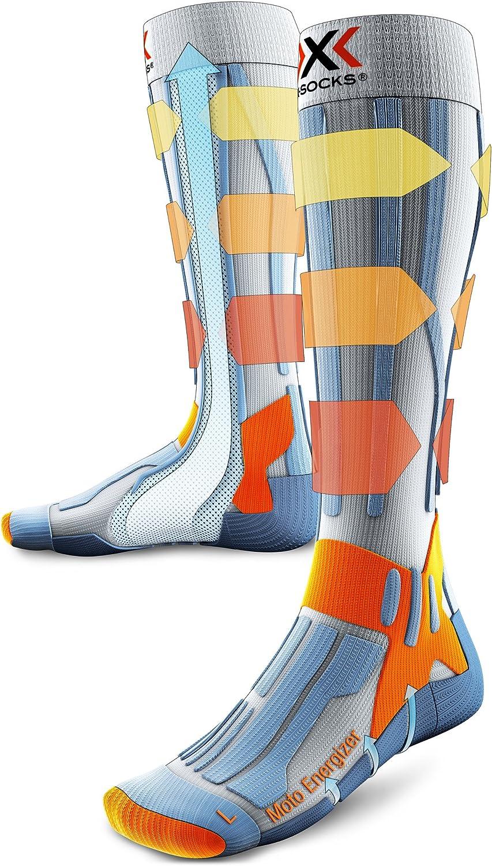 X-Socks Funktionssocke Moto Enduro Motorradstrumpf