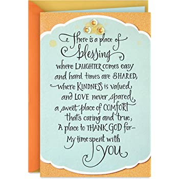 Amazon Com Hallmark Dayspring Religious Birthday Card Blessings On Your Birthday Office Products