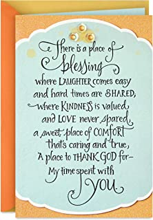 Hallmark DaySpring Religious Birthday Card (Blessings On Your Birthday)