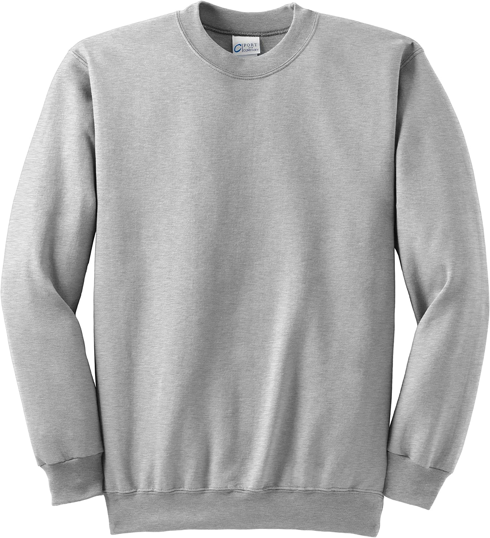 Port & Company Tall Ultimate Crewneck Sweatshirt>3XLT Ash PC90T
