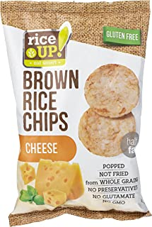 Rice up Chips Cheese, 60 gm (Pack of 1)