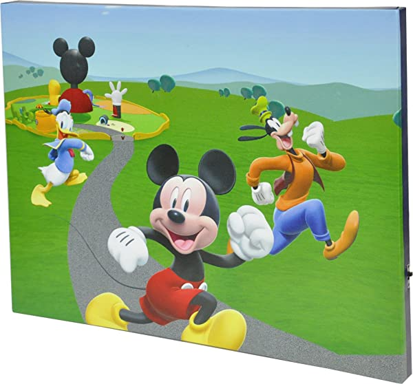 Disney Mickey Mouse Canvas LED Wall Art