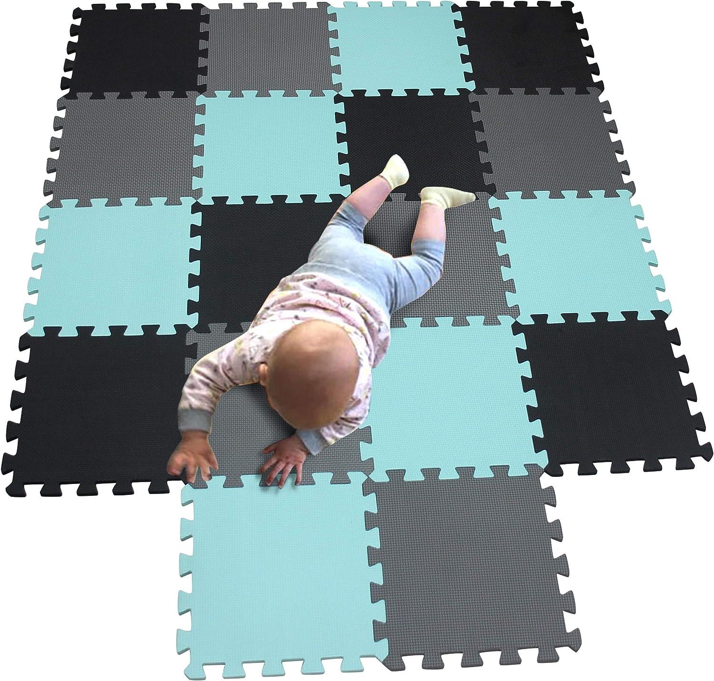 MQIAOHAM children puzzle mat bab squares Max 81% OFF play Mesa Mall tiles