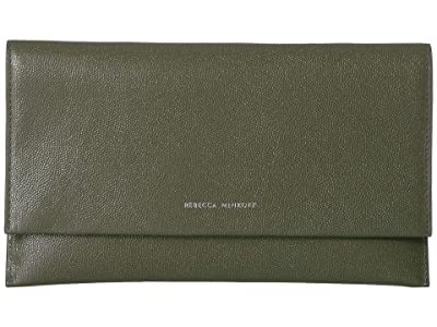 Rebecca Minkoff Wallet Clutch (Hunter) Handbags