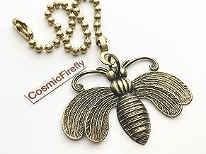 Brass Bee Fan Pull Chain