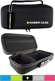 BOMBER CASE - Combination Lock Box - Smell Proof Stash Case - Customizable Padded Interior - Flexible Construction and Odor Proof Locking Zipper - Safe Container - 9.5