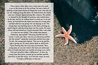 Starfish Story Beach Photograph Art Print