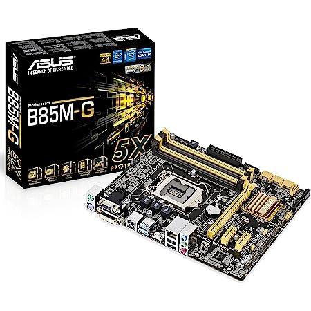 ASUS Intel B85 搭載 マザーボード LGA1150対応 B85M-G 【microATX】