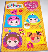 Lalaloopsy Super Size Coloring and Activity Book ~ Magical Friends Forever (150 Pages; Sew Magical Sew Cute)