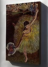 Canvas 24x36; Fin D'Arabesque, With Ballerina Rosita Mauri, 1877, Musée D'Orsay By Edgar Degas